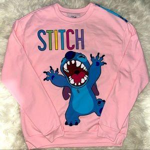 🌺 Disney STITCH Crewneck Sweatshirt Medium